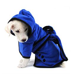 albornoz para perros pequeños