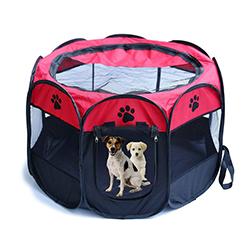 parque plegable para perros
