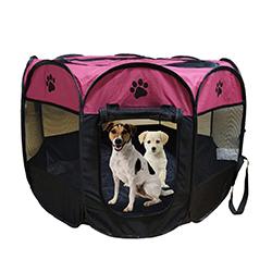 parque portatil para perros