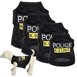 disfraz de policia para perro