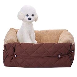 cesta para perros pequeños