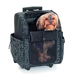 macuto con ruedas para perros