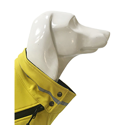 chaleco impermeable perro