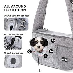 bolsa de transporte para perros pequeños